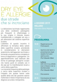 DRY EYE E ALLERGIE: DUE STRADE CHE SI INCROCIANO