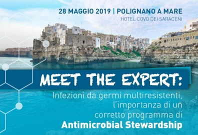 MEET THE EXPERT: Infezioni da germi multiresistenti, l'importanza di un corretto programma di Antimicrobial Stewardship